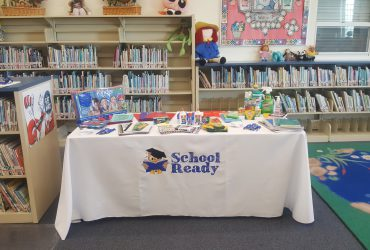 school ready supplies table